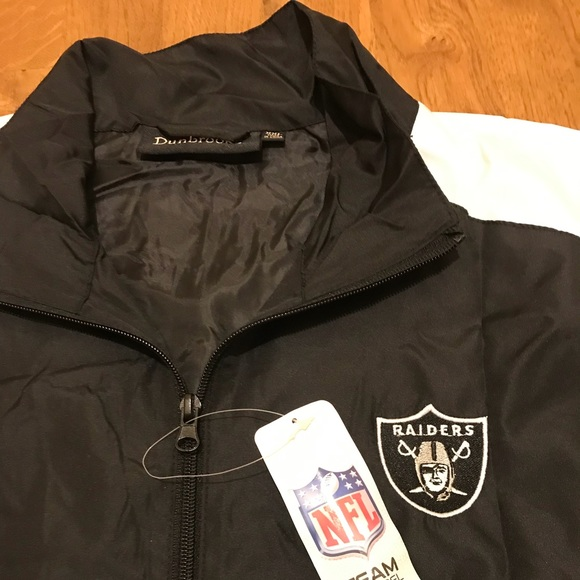 competitive price e1dc7 03634 RAIDERS Windbreaker new with tags $10 NWT